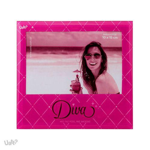 Porta Retrato Vidro - Diva