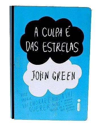 """Caixa Livro """"A Culpa é das Estrelas"""""""