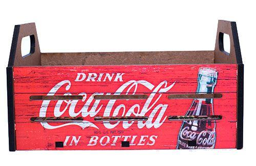 Porta Objeto Coca Cola