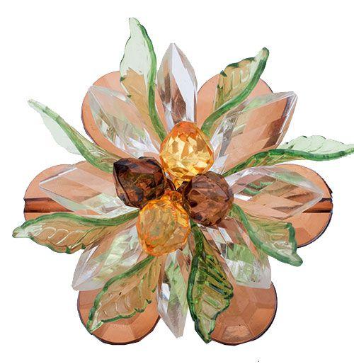 Porta Guardanapo Flores Luxo