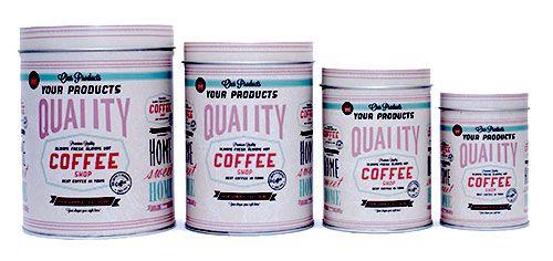 Kit de Latas Coffee