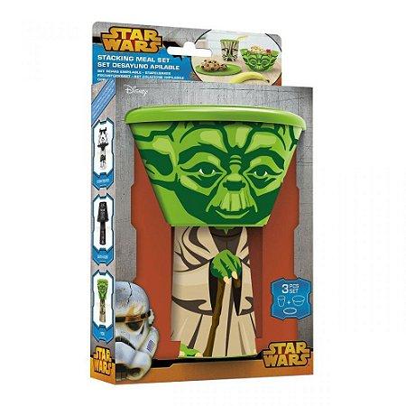 Kit Para Lanche Star Wars Mestre Yoda