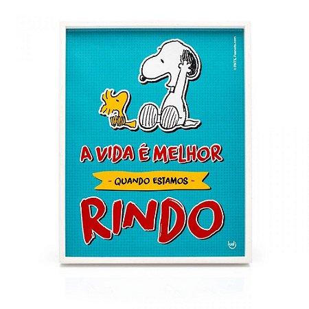 Quadro Snoopy Comics