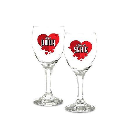 Taças de Vinho Amor Fora de Série