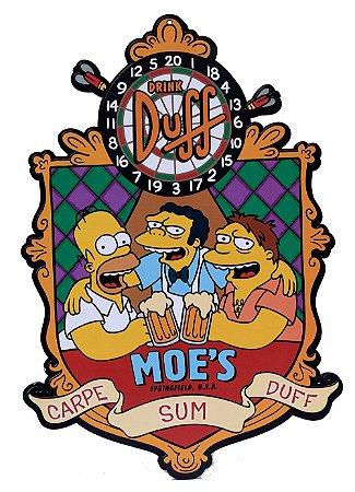 Placa Duff Moe's