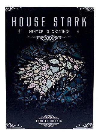Placa Game of Thrones House Stark