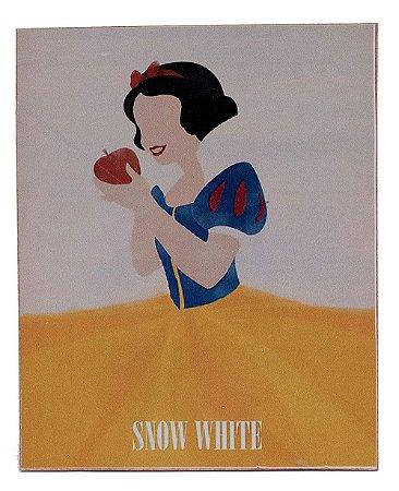 Placa Branca de Neve