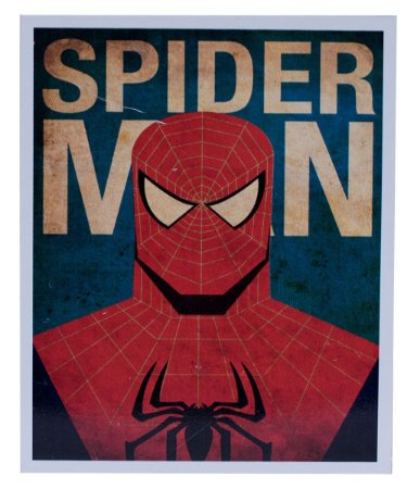 Placa Homem Aranha