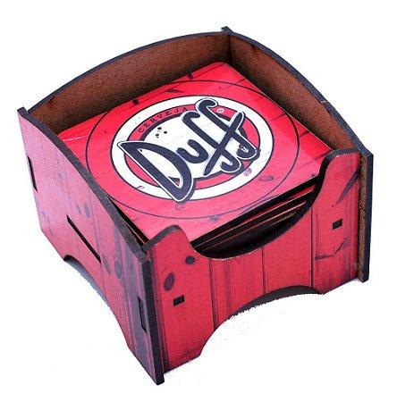 Porta Copo Duff Beer