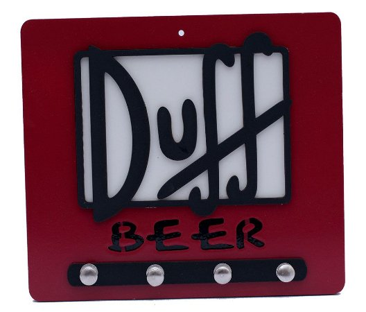 Porta Chaves Duff Beer