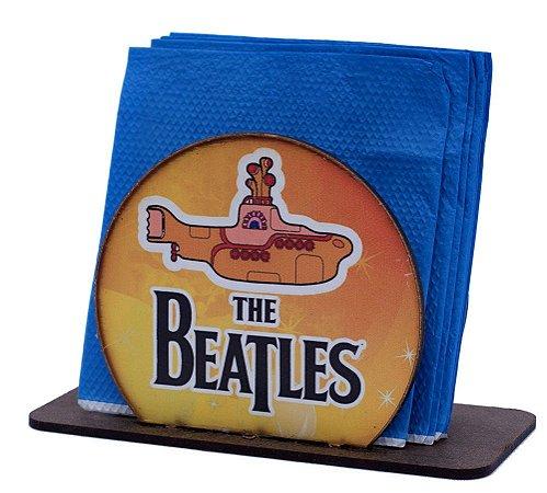 Porta Guardanapo Redondo The Beatles