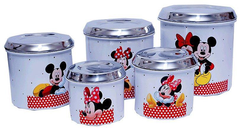 Lata de Mantimento Mickey e Minnie