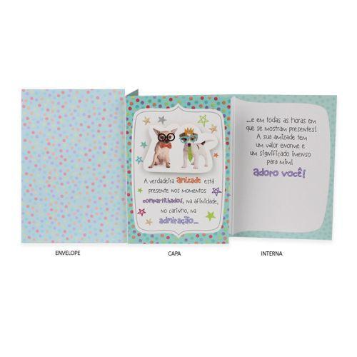 Cartão Cãezinhos Ocasiões especiais