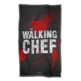 Pano de Prato The Walking Dead Chef