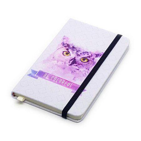 Caderneta de Anotações Be Colorful - Coruja