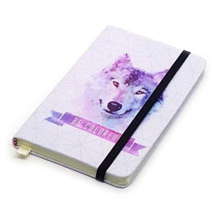 Caderneta de Anotações Be Colorful - Lobo