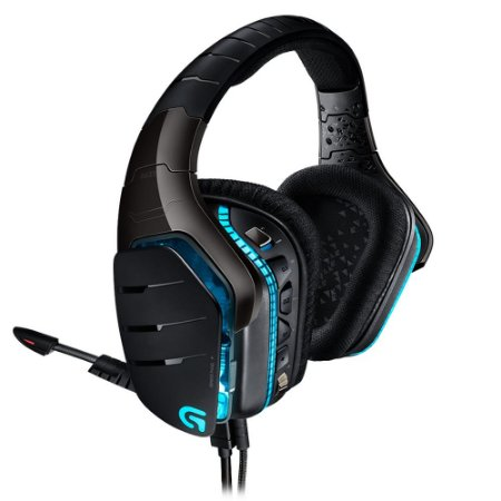 Headset Gamer Logitech G633 Artemis Spectrum RGB Lightsync 7.1 Dolby Surround Drivers Pro-G
