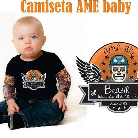 CAMISETA AME-BR BABY