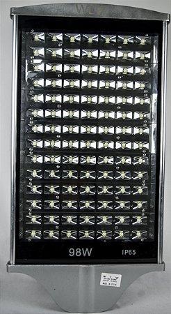 Luminária Pública  Poste Led 98W Branco Frio bivolt