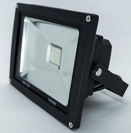 Refletor De LED 20W RGB IP66