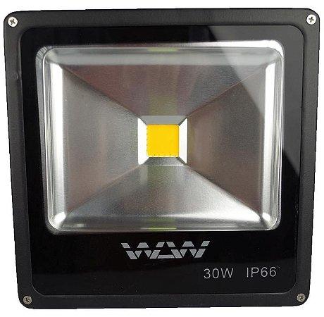 Refletor De LED 30W 3200k Banco Quente IP66