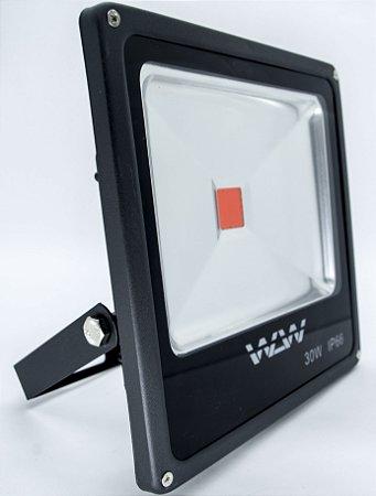 Refletor De LED 30w Luz Vermelha IP66