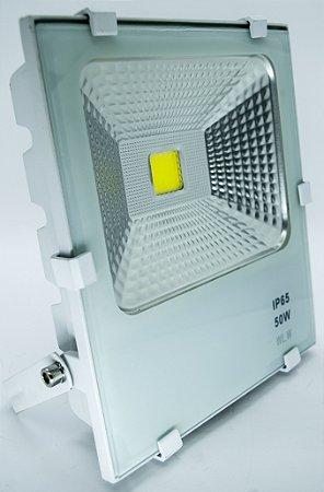 REFLETOR De LED 50W 6500K Branco Frio IP66