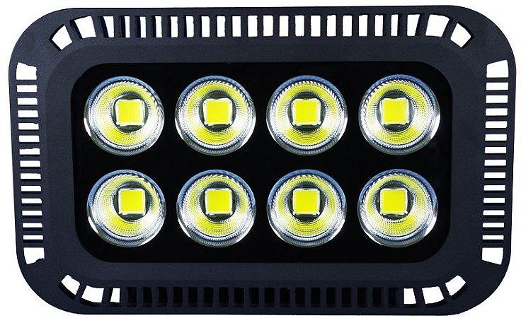 Refletor de LED 400W 6500k Branco Frio Bivolt