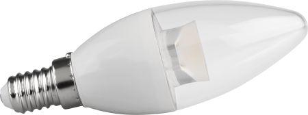 Lampada VELA TRANSPARENTE 5W 400LM Branco Quente