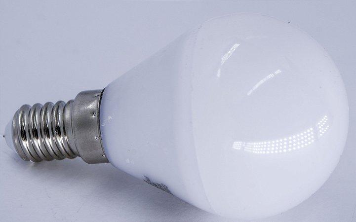 Lampada G45 3W 240LM Branco Quente 2400k 85-240V E14