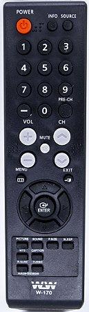Controle Remoto Dvd Gravador Samsung Dvd - WLW-170