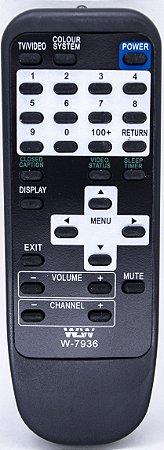 Controle Remoto P/ Tv Tubo Gradiente wlw-7936