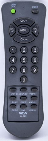 REF WLW-120 - CONTROLE UNIVERSAL PARA TV