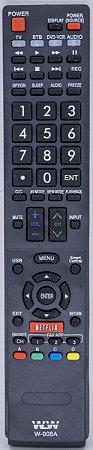 REF W-008A - CONTROLE LCD SHARP SMART
