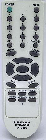 Controle Remoto Tv Lg WLW-237