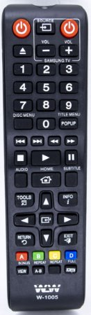 REF W-1005A - CONTROLE UNIVERSAL PARA TV