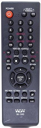 Controle Remoto LCD SAMSUNG REF W-160A