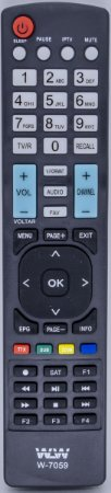 Controle Remoto Tv Sony WLW-7059