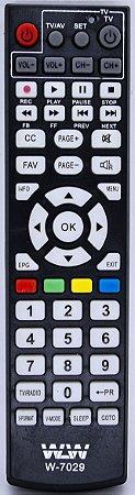 PLA-Controle Remoto-LCD-CEMLUNY REF:W-7029