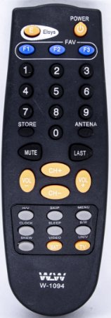 PLA-CONTROLE REMOTO TV ELSYS- REF:1094