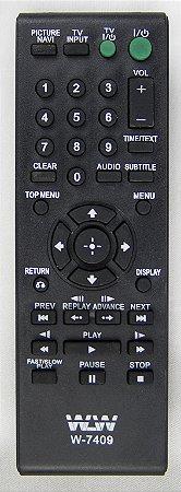 Controle Remoto-DVD-SONY REF:7409