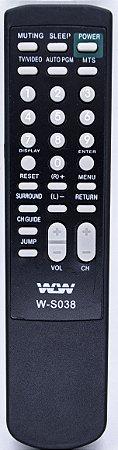 Controle Remoto TV SONY REF:S038