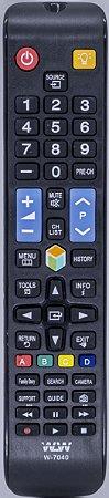 Controle Remoto smart TV Samsung 3D LED plasma WLW-7040