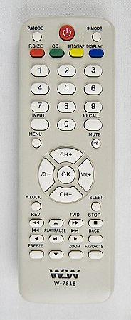 CONTROLE REF:W-7818