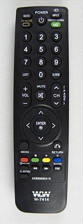 Controle Remoto LCD LG REF:7414
