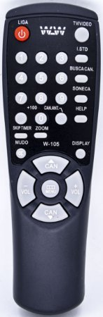 Controle remoto  TV SAMSUNG Embal:100pcs REF:105