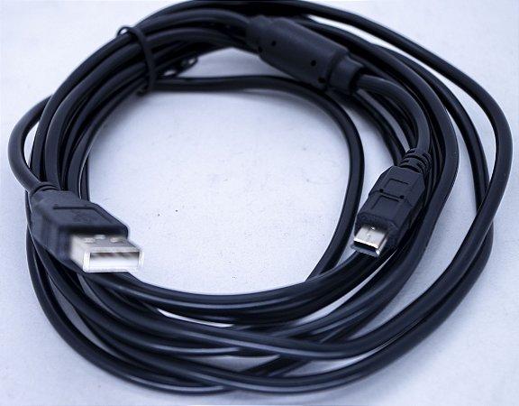 Cabo V3 5MT Passa Dados  Com Filtro USB-V3-5M