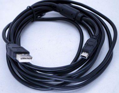 Kit 10un Cabo V3 5MT Passa Dados  Com Filtro USB-V3-5M