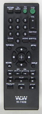 Kit 20un Controle Remoto-DVD-SONY REF:7409