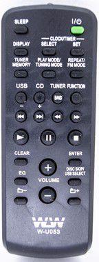 Kit 10un Controle Remoto SOM DE SONY REF:U053